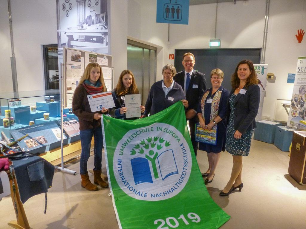 FWS Benefeld erneut als Umweltschule ausgezeichnet